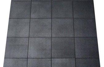 Piso de caucho doble densidad de 20 mm (precio por m2)