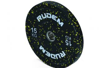 RUDEM Camouflage bumper plate -15KG