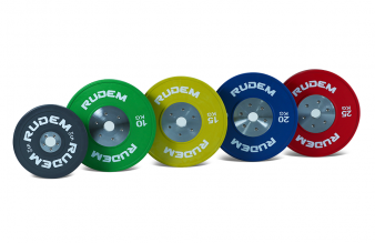 RUDEM Competition Bumpers Plates