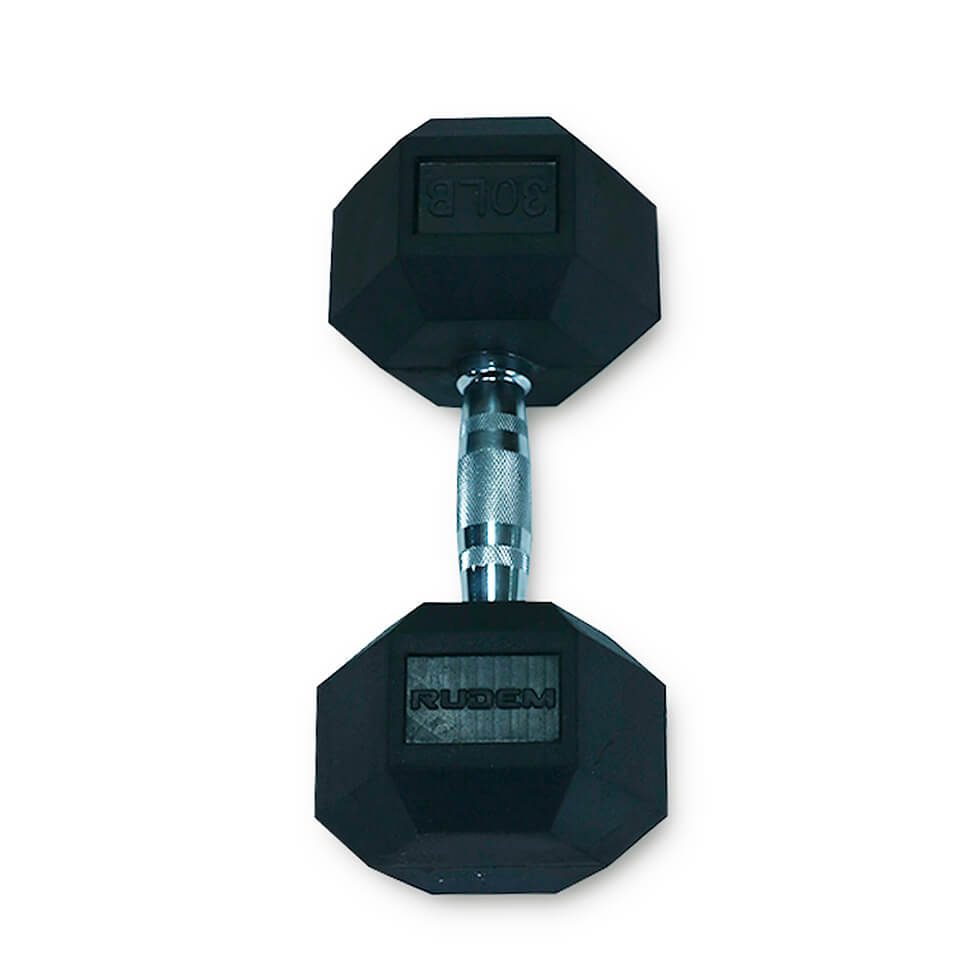 Dumbbell / Mancuerna Hexagonal 30LB