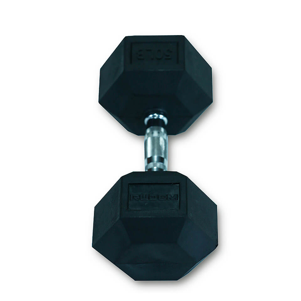 Dumbbell / Mancuerna Hexagonal 50LB