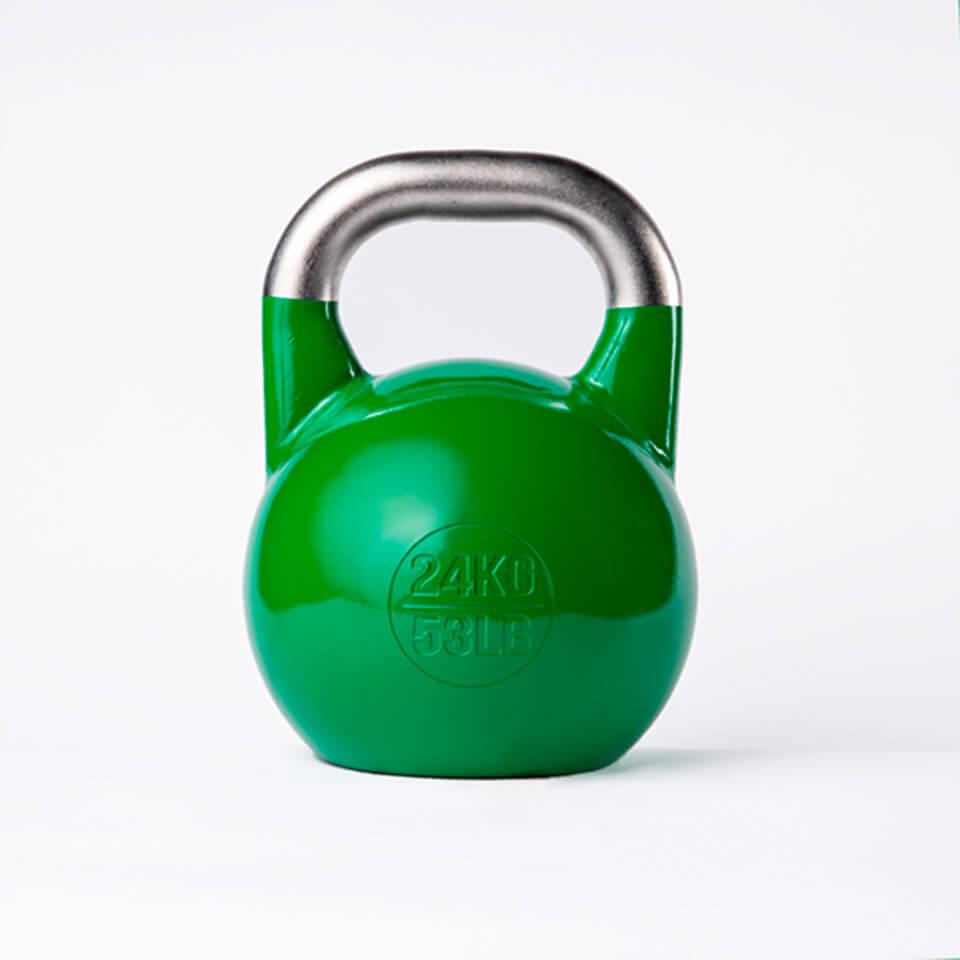 Kettlebell Deportivo Profesional 24kg espalda