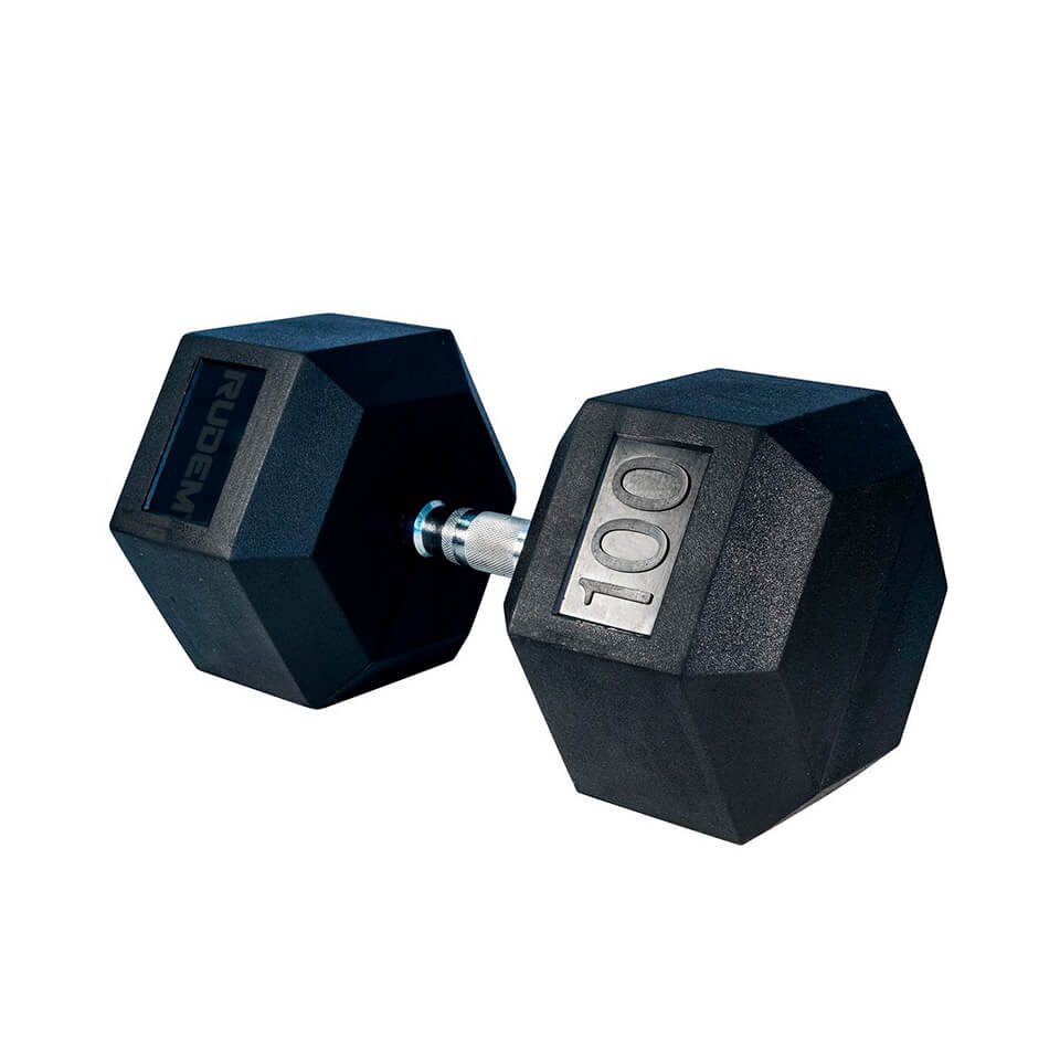 Dumbbell / Mancuerna Hexagonal 100LB